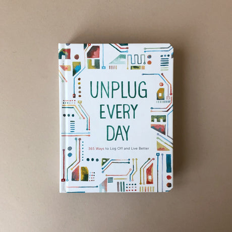 unplug-every-day-journal-cover-with-geometric-illustrations