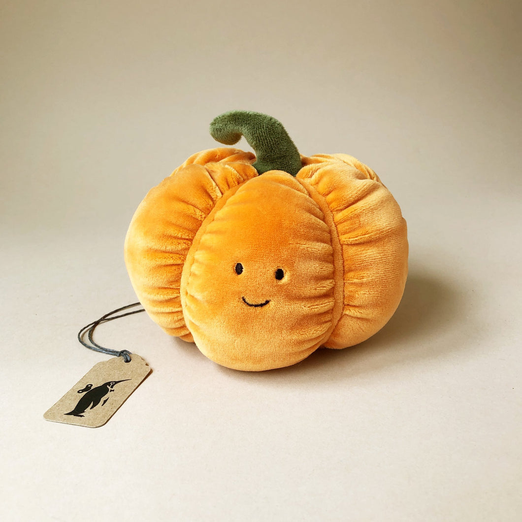 Vivacious Veggie | Pumpkin - Stuffed Animals - pucciManuli