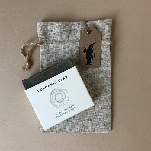Volcanic Clay Artisan Soap Bar - Bath & Body - pucciManuli