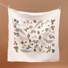 Load image into Gallery viewer, Wild Berries & Nuts Kitchen Tea Towel - Kitchen - pucciManuli