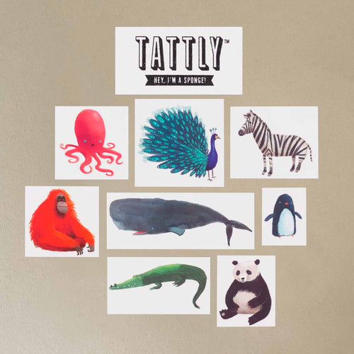 Wildlife Temporary Tattoo Set - Accessories - pucciManuli