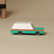 Load image into Gallery viewer, Wooden Candy Wagon - Teal - Pretend Play - pucciManuli