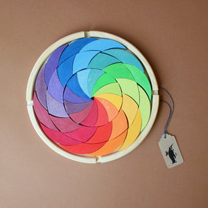 Wooden Building Set | Color Wheel - Building/Construction - pucciManuli