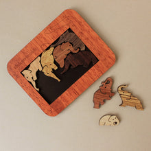 Load image into Gallery viewer, Wooden Elephants Puzzle - Puzzles - pucciManuli