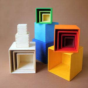 wooden-nesting-boxes-in-three-color-palettes-natural-warm-colors-and-cool-colors