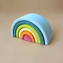 Load image into Gallery viewer, Wooden Rainbow | XS - Building/Construction - pucciManuli
