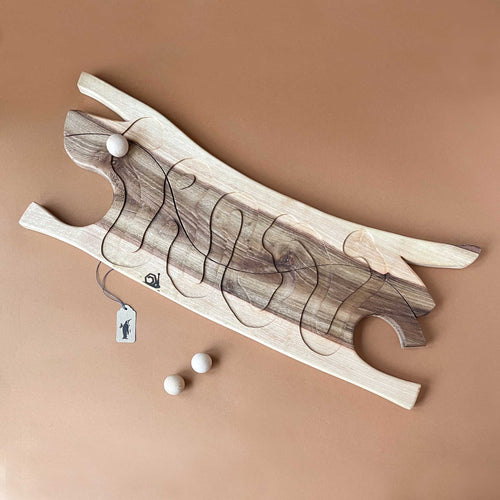 wooden-river-cooperative-game-in-two-tone-wood-with-three-wooden-balls