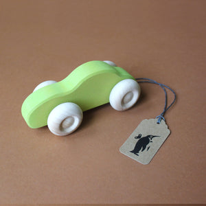 Wooden Slimline Car - Pretend Play - pucciManuli