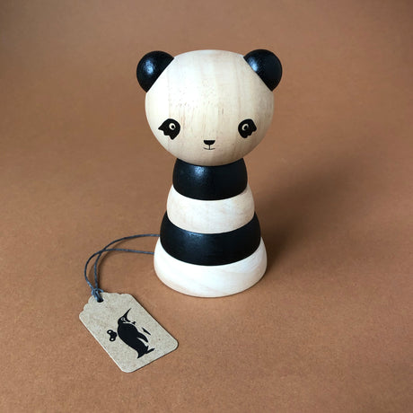wooden-stacker-panda-soft-wood-toy-with-two-tone-color-wood-and-a-bear-head-top-assembled