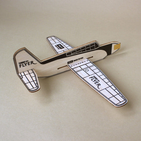 Wooden Turbo Flyer Airplane - Outdoor - pucciManuli