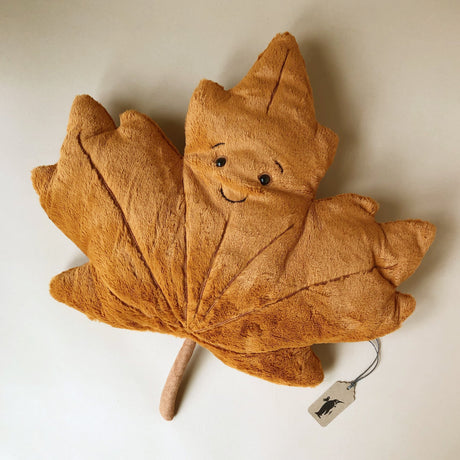 Woodland Maple Leaf - Stuffed Animals - pucciManuli