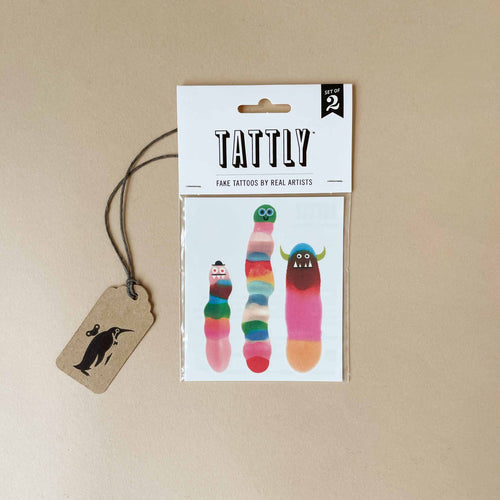 Wormies Temporary Tattoos - Accessories - pucciManuli