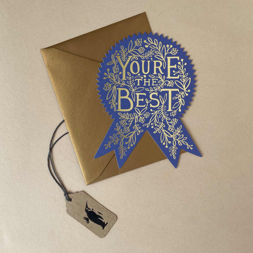 You're The Best Greeting Card - Greeting Cards - pucciManuli