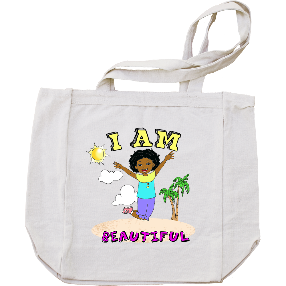I Am Beautiful Tote Bag