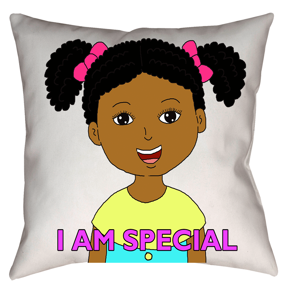 I Am Special Decorative Pillow Case