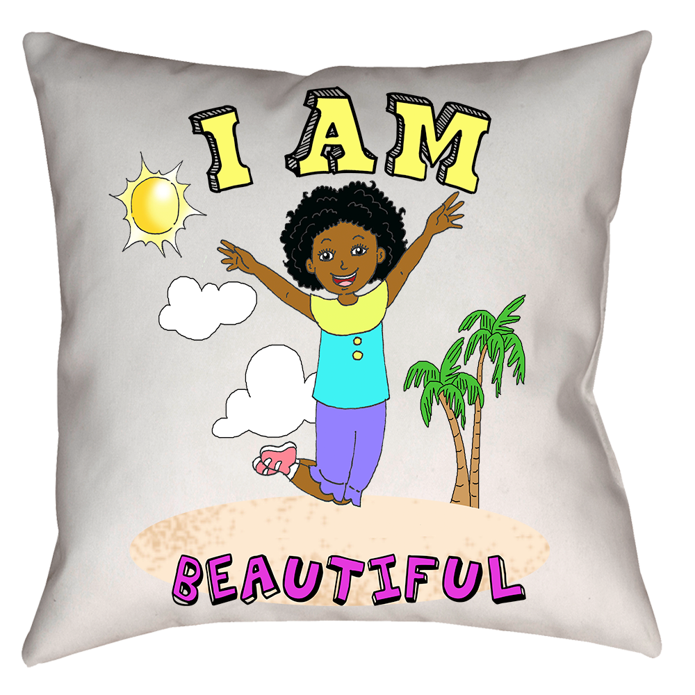 I Am Beautiful Pillow