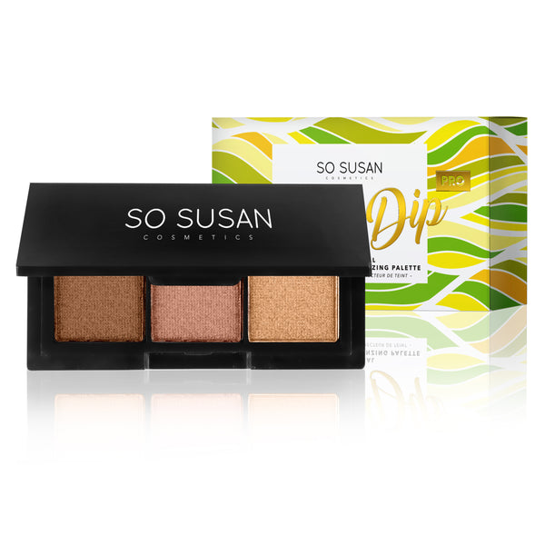Glow Dip Pro - Professional Color-Correcting Bronzing Palette