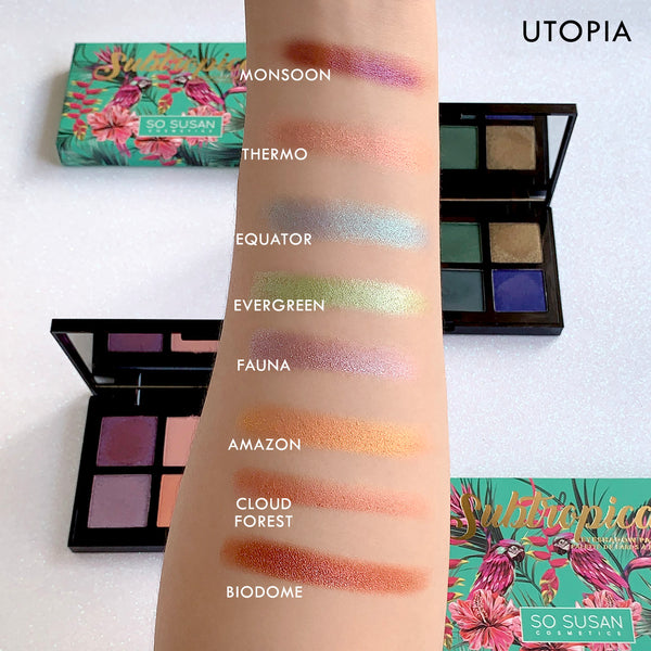 Subtropical - Eyeshadow Palette