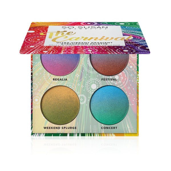 The Carnival - Ultra-Vibrant Gradient Eyeshadow Palette