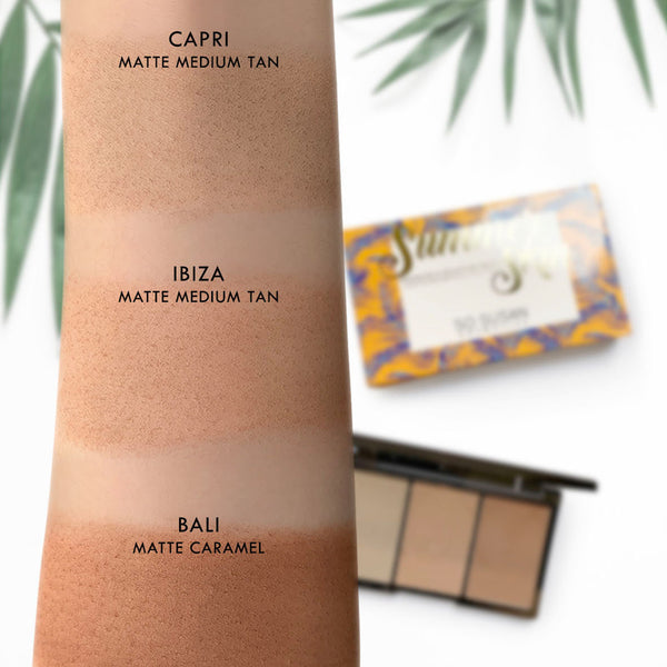 Summer Skin - Bronzing & Sculpting Palette