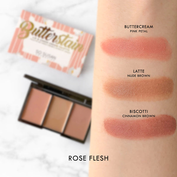 Butterstain - Lip & Cheek Cream Palette