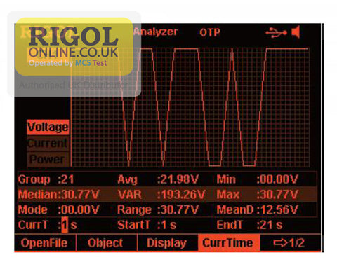 Rigol AFK-DP800 Online Monitor & Analysis Function Licence