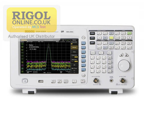 Rigol DSA1030A-TG 3 GHz Spectrum Analyser with Tracking Generator