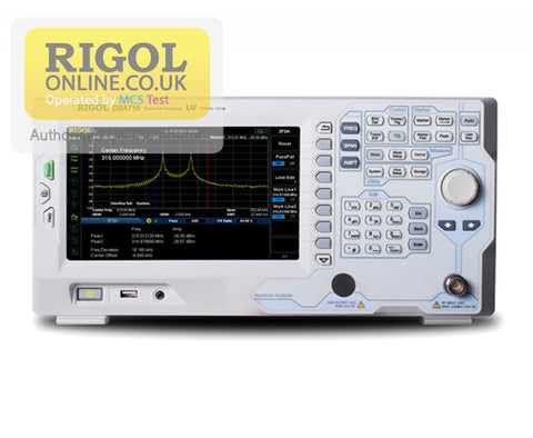 Rigol DSA710 1 GHz Spectrum Analyser