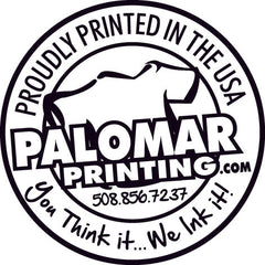 Palomar Printing - custom screen printing, embroidery, promotional products.