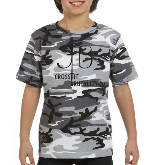 (Crossfit Brutality) 2206 Code Five Youth Camo T-Shirt  YOUTH