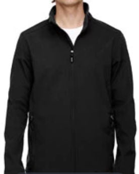 Prime Plus Ash City - Core 365 Men's Cruise Two-Layer Fleece Bonded Soft Shell Jacket. Embroidered Left Chest