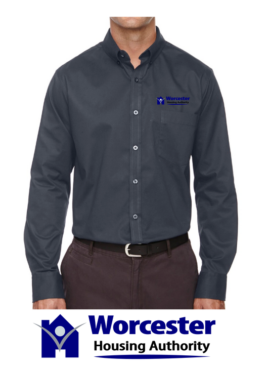 Ash City - Core 365 Men's Operate Long-Sleeve Twill Shirt