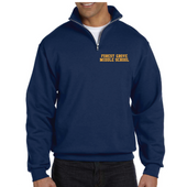 (Forest Grove Middle School)  1/4 Zip Navy Blue
