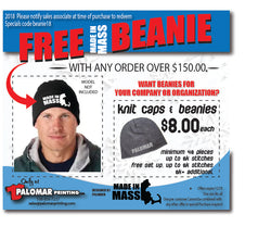 Free Beanie with purchase*