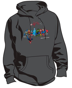 UMass Cancer Center Super Hero Healthcare Worker Sweatshirt
