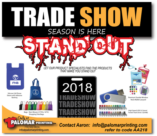 Trade Show Season is HERE!!
