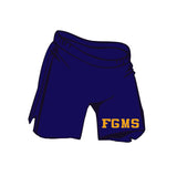 (Forest Grove Middle School)    Adult Navy Blue Gildan Shorts g46s