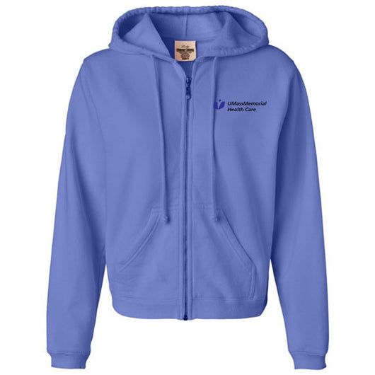 Comfort Colors Full Zip Hooded Sweatshirt