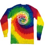 (Boylston Bobcats) Moondance Long sleeve tie-dye ADULT CD200