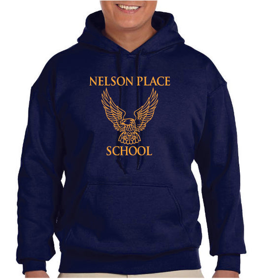 (Nelson Place) Adult Hooded Sweatshirt