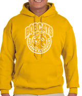 (Boylston Bobcats) Sport Grey Hooded Sweatshirt- ADULT G185
