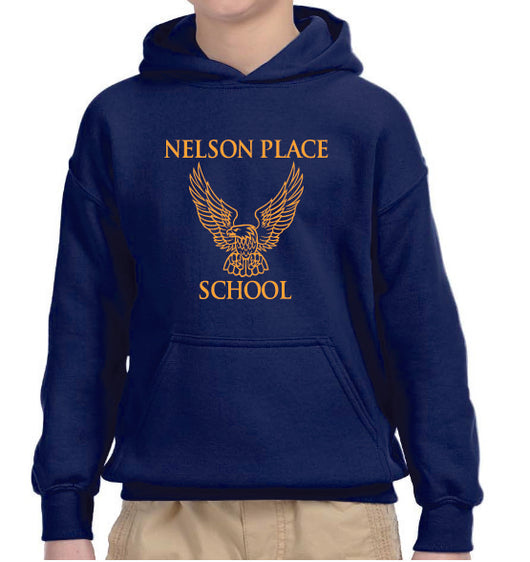 (Nelson Place) Youth Hooded Sweatshirt