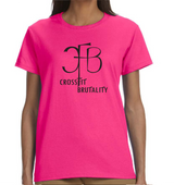 (Crossfit Brutality) G200L Gildan Ladies' Ultra Cotton® 6 oz. T-Shirt