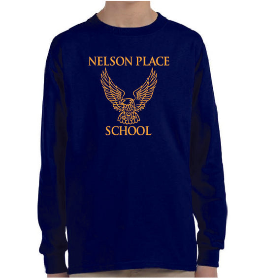 (Nelson Place) Youth Long Sleeve Shirt