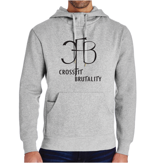 (Crossfit Brutality) 322H Threadfast Apparel Unisex Precision Fleece Hoodie