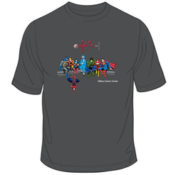 UMass Cancer Center Super Hero Healthcare Worker Tee