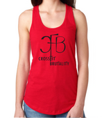 (Crossfit Brutality)  N1533 Next Level Ladies' Ideal Racerback Tank
