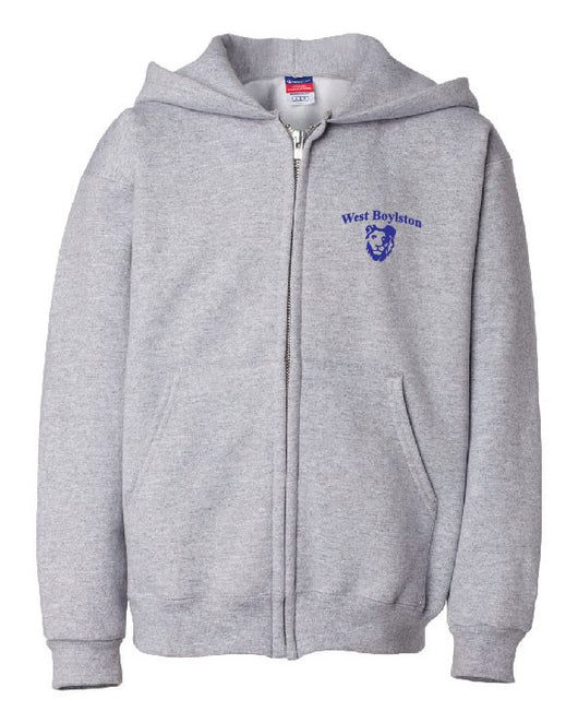 WB Adult Champion Zippered Hoodie