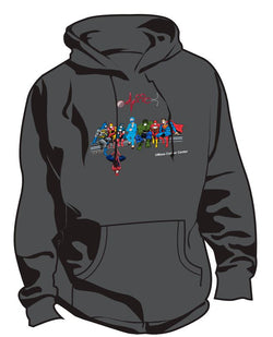 UMass Cancer Center Super Hero Nurse Sweatshirt
