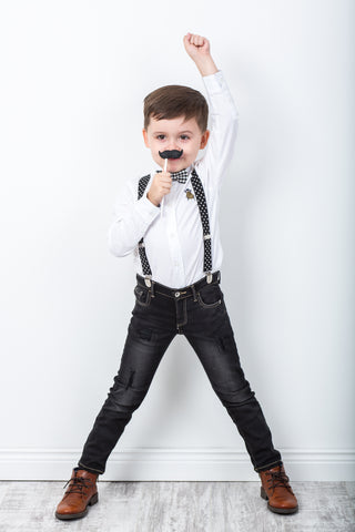 Braces and Bow Tie From Digg Childrenswear